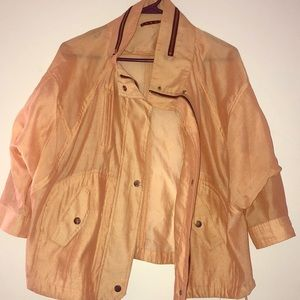 Jackets & Blazers - PARSON Sheer Peach Color Jacket